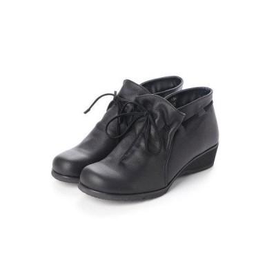 アトリエ Atelier 【3E】エンジニアショートブーツ (ブラック)