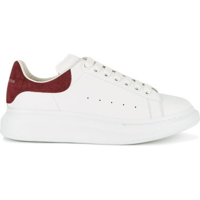 アレキサンダー マックイーン Alexander McQueen メンズ スニーカー シューズ・靴 larry white leather sneakers White