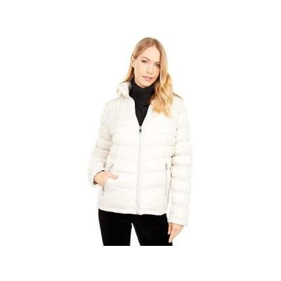 ケネスコール Hooded Packable Jacket レディース コート アウター Oyster