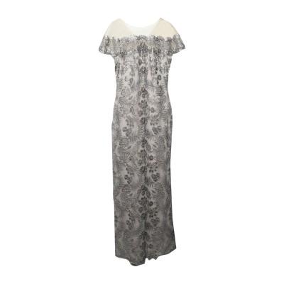 TADASHI SHOJI ロングワンピース&ドレス ベージュ 12 ポリエステル 80% / ナイロン 20% ロングワンピース&ドレス