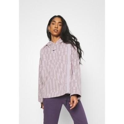 ナイキ パーカー・スウェットシャツ レディース アウター HOODIE - Sweatshirt - platinum violet/taupe haze/black