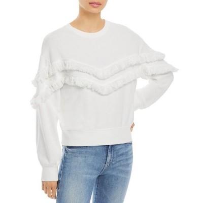 レイルズ レディース シャツ トップス Kinsey Fringe Sweatshirt