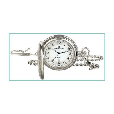 Charles-Hubert, Paris 3554 Two-Tone Quartz Pocket Watch【並行輸入品】