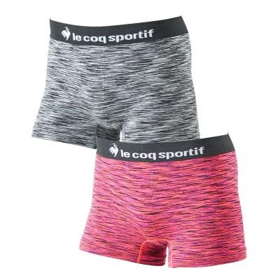 【le coq sportif (ルコックスポルティフ)】成型ストレッチ前閉じボクサーパンツ2枚組 ボクサーパンツ,  trunks, boxerbriefs