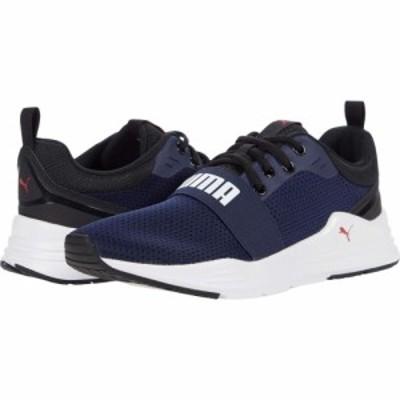 プーマ PUMA メンズ スニーカー シューズ・靴 Wired Run Peacoat/Puma White