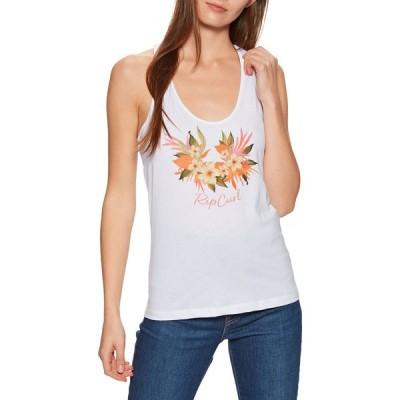 リップカール Rip Curl レディース タンクトップ トップス branded floral tank vest White