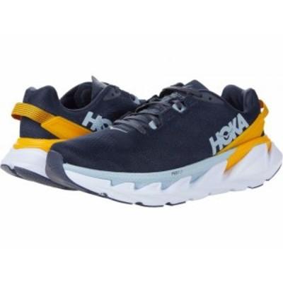 Hoka One One ホカオネオネ メンズ 男性用 シューズ 靴 スニーカー 運動靴 Elevon 2 Ombre Blue/Saffron【送料無料】