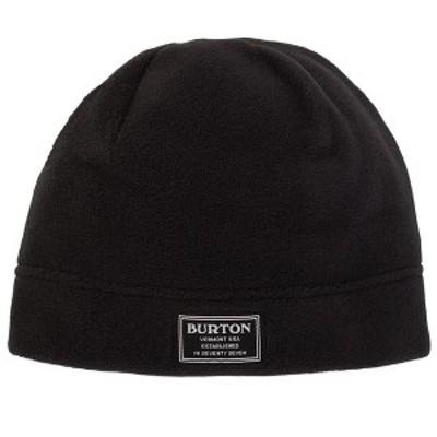 バートン メンズ 帽子 アクセサリー Burton Ember Fleece Beanie True Black