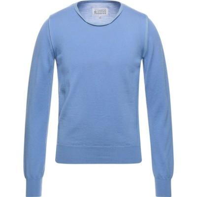 メゾン マルジェラ MAISON MARGIELA メンズ ニット・セーター トップス sweater Pastel blue