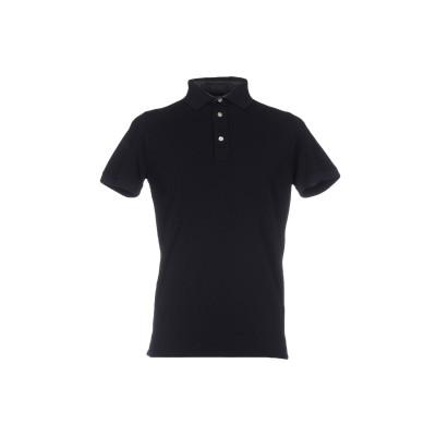 アルファスタジオ ALPHA STUDIO ポロシャツ ダークブルー 48 コットン 100% ポロシャツ