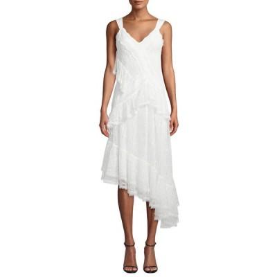 アレクシス レディース ワンピース トップス Augustine Embroidered High-Low Dress