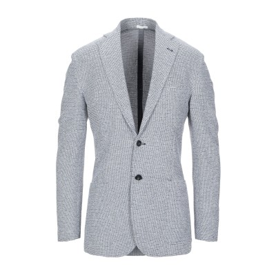 サルトリオ SARTORIO テーラードジャケット ブルー 48 コットン 92% / ナイロン 7% / ポリウレタン 1% テーラードジャケット