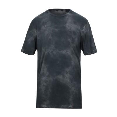 セオリー THEORY T シャツ スチールグレー XS ピマコットン 100% T シャツ