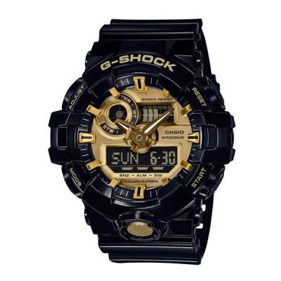 カシオ CASIO メンズ腕時計 G-SHOCK GA-710GB-1AJF ゴールド/ブラック