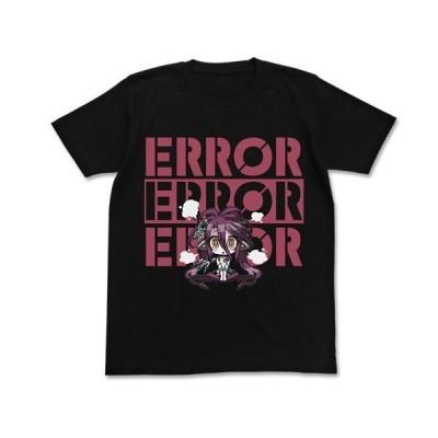 ノーゲーム・ノーライフ ゼロ シュヴィ エラーTシャツ ブラック XLサイズ