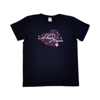 阪神タイガース tシャツ モノグラ 虎ガール ネイビー 2021(S/M/Lサイズ) レディース ウェア タイガースウィメン