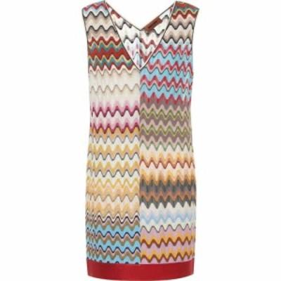 ミッソーニ Missoni レディース ワンピース ワンピース・ドレス wool-blend minidress Smm