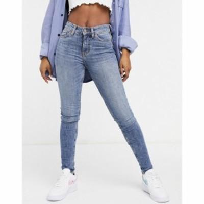 モンキ Monki レディース ジーンズ・デニム ボトムス・パンツ Skinny Jeans In Blue ブルー