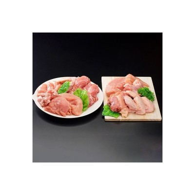 日南市 ふるさと納税 黒潮ポーク 国産鶏大満足4種セット(計3.5kg)