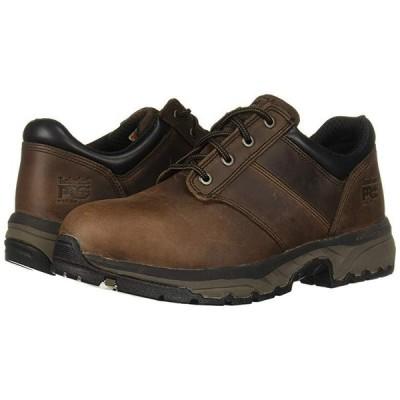 ティンバーランド Jigsaw Oxford Steel Toe メンズ オックスフォード Brown