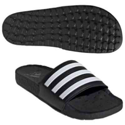 アディレッタ BOOST コアブラック×フットウェアホワイト 【adidas アディダス】サッカーフットサルサンダルfy8154