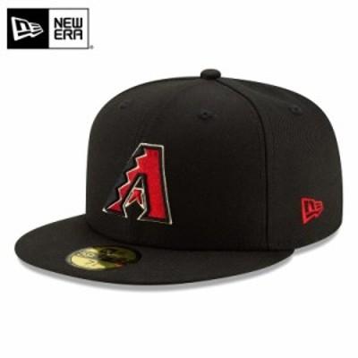 【T】【メーカー取次】 NEW ERA ニューエラ 59FIFTY MLB On-Field アリゾナ・ダイヤモンドバックス ブラック Aロゴ 12504370 キャップ /