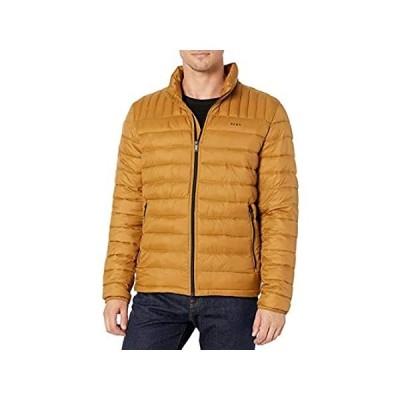 DKNY メンズ 防水 ウルトラロフト キルト パッカブル パファージャケット US サイズ: XX-Large カラー: ゴールド