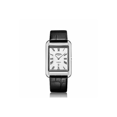 おしゃれ 個性的 高品質 腕時計 ロータリー メンズ Rotary GS05280-01 Men's Cambridge Oblong