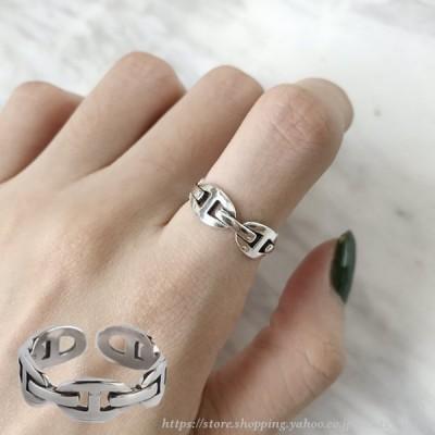 指輪 オープンリング アクセサリー レディース 女性用 シルバー925 銀色 サイズ調整可能 開口 おしゃれ かわいい ギフト 記念日 誕生日 プレゼント