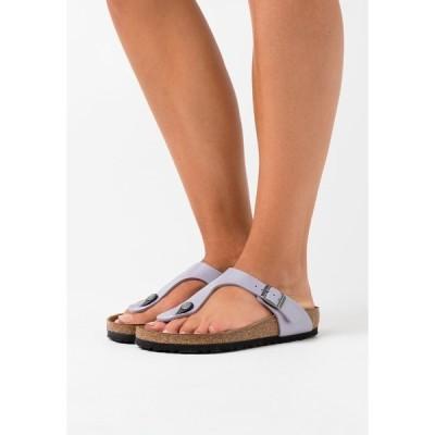 ビルケンシュトック サンダル レディース シューズ GIZEH - T-bar sandals - graceful lavendel