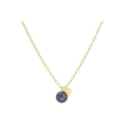 Madewell Colorful Flower Charm Pendant Necklace レディース ネックレス Deep Navy