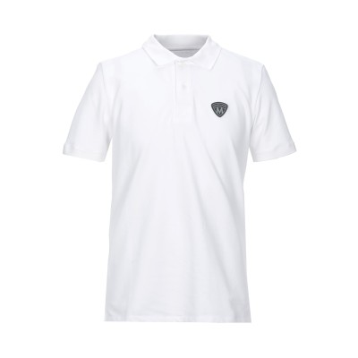 MARCIANO ポロシャツ ホワイト S コットン 95% / ポリウレタン 5% ポロシャツ