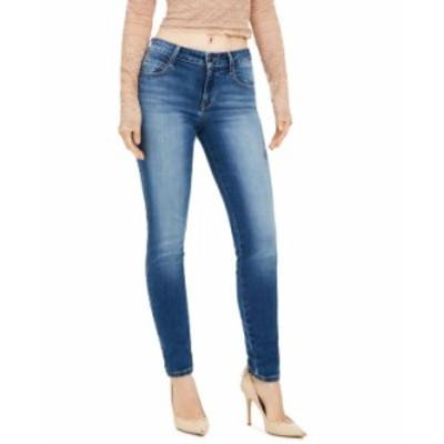 ゲス レディース デニムパンツ ボトムス Mid-Rise Curvy Jeans Saville Wash