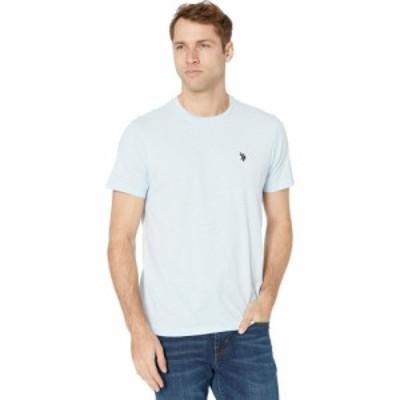ユーエスポロアッスン U.S. POLO ASSN. メンズ Tシャツ トップス Crew Neck Small Pony T-Shirt Tahoe Blue Heather