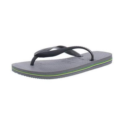 [ハワイアナス] Brasil Steel Grey Ankle-High Sandal - 7M / 6M