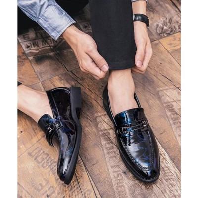 セール ビジネスシューズ メンズスリッポン 歩きやすい革靴 紳士靴 フォーマルシューズ スリッポン メンズ靴
