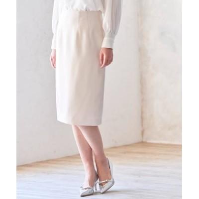 ANAYI/アナイ トリアセテートサテンタイトスカート ベージュ1 38