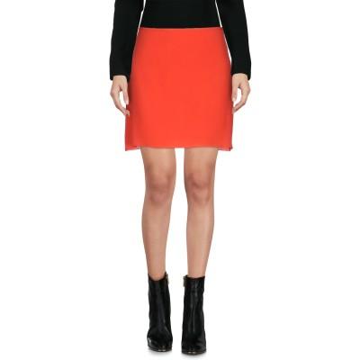 マルニ MARNI ミニスカート レッド 40 アセテート 76% / シルク 24% ミニスカート