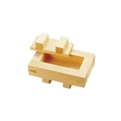木製 箱寿司 (桧材) TKG BSS16