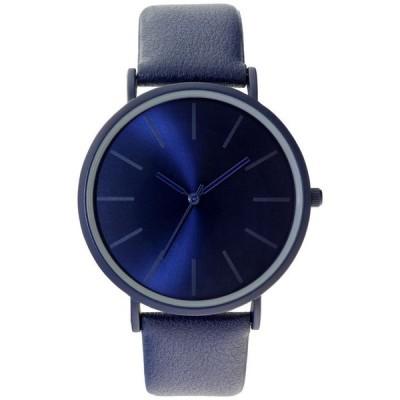 アイエヌシーインターナショナルコンセプト メンズ 腕時計 アクセサリー Men's Blue Strap Watch 44mm. Created for Macy's