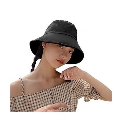 LA-Hazel 日除け帽子 レディース UVカット 日本製 日焼け 防止 帽子 上質コットン 日よけ 折りたたみ 日焼け防止 熱中症予防 おしゃれ