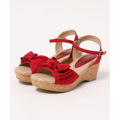 Parade ワシントン靴店 / 【厚底】リラックスリボンウェッジサンダル 54696 WOMEN シューズ > サンダル