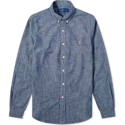 ラルフ ローレン Polo Ralph Lauren メンズ シャツ トップス button down dark indigo shirt Dark Indigo