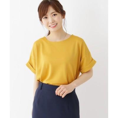 tシャツ Tシャツ 【M-LL】ラフシルエット半袖プルオーバー