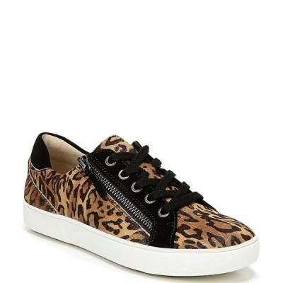 ナチュライザー レディース スニーカー シューズ Macayla Cheetah Print Calf Hair Lace-Up Snakers Cheetah