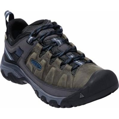 キーン メンズ スニーカー シューズ Targhee III Waterproof Trail Shoe Steel Grey/Captains Blue