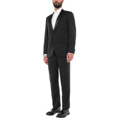 KARL REYER スーツ ブラック 54 ウール 100% スーツ
