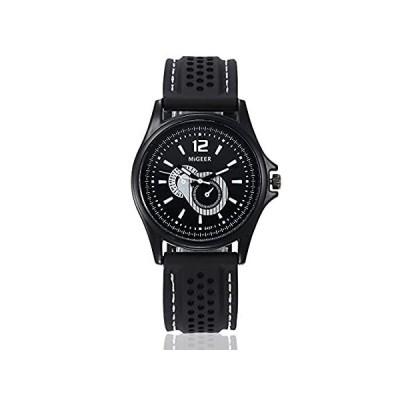【新品・送料無料】Mens Quartz Watches Cooki Men 's Uniqueアナログビジネススポーツカジュアルファッションクールステンレススチールア