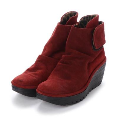 ヨーロッパコンフォートシューズ EU Comfort Shoes FLYLONDON ショートブーツ(500.689) (ダークグレー)