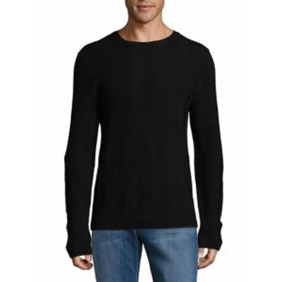 サックスフィフスアベニュー Men Clothing Knitted Wool Sweater